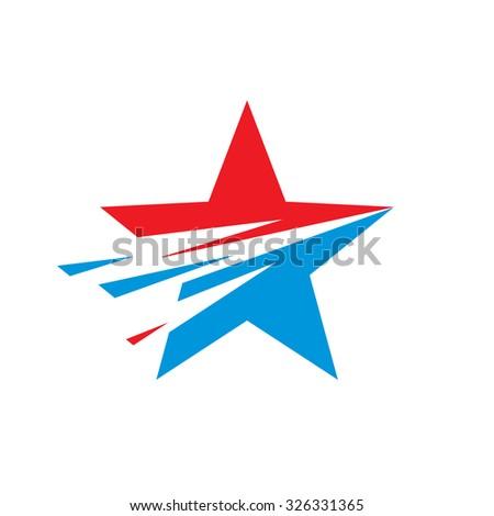 star   vector logo template