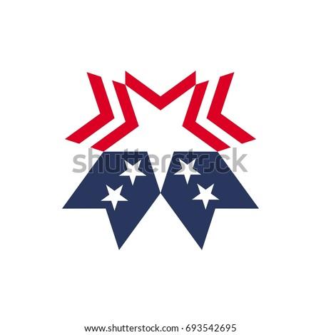 star vector logo united states