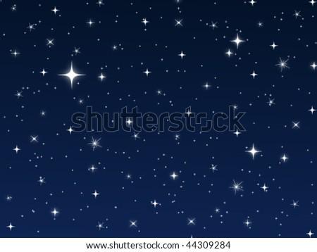 Star Vector Night Sky