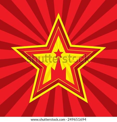 star with kremlin symbol