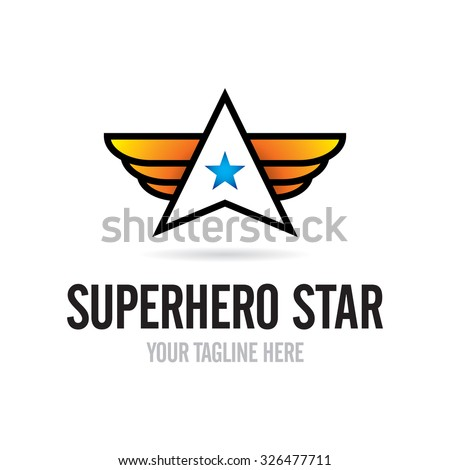 star with wings logo