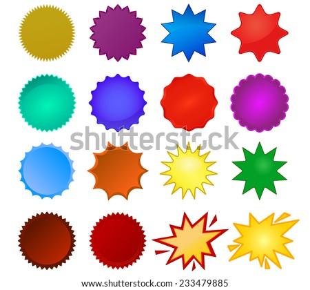 starburst seals set  bursting