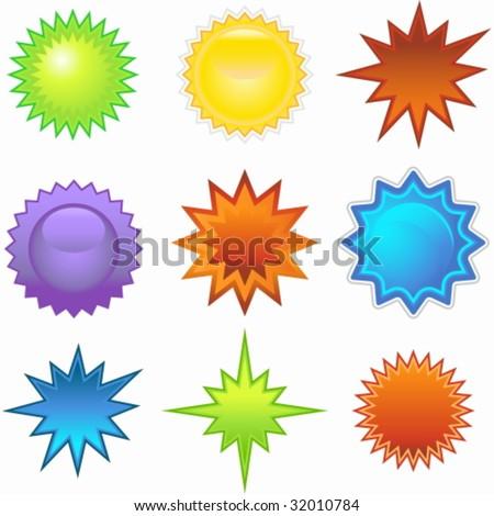 starburst set colors