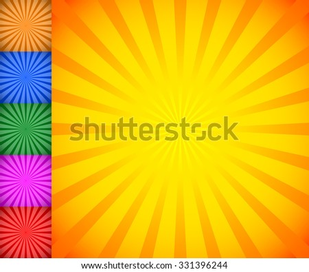 starburst  sunburst background