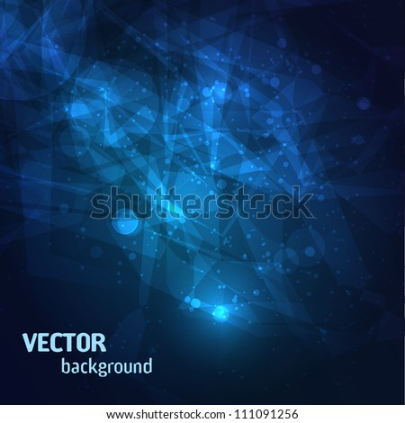 Stardust background. Vector Illustration - stock vector