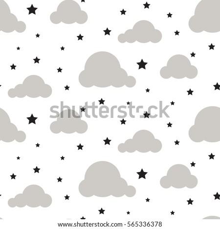 starlight night sky seamless