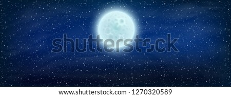 starry space background with