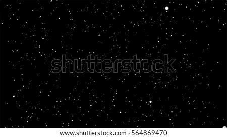 starry space vector background