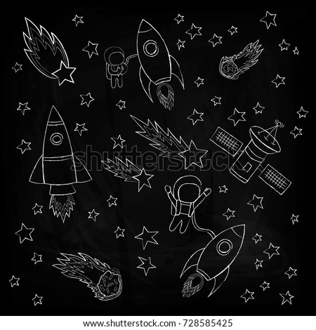stars and meteorites  a rockets