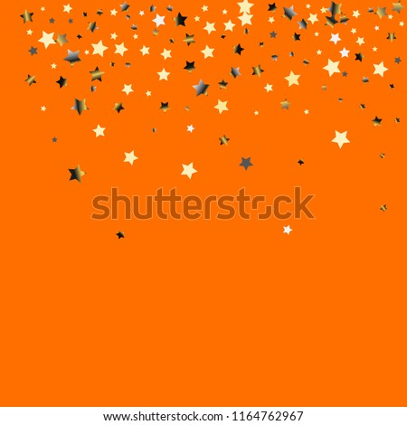 stars confetti  isolated