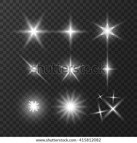 stars lights effect  stars
