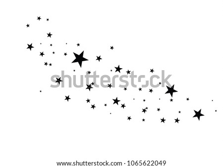 stars on a white background