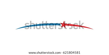 stars or meteor logo