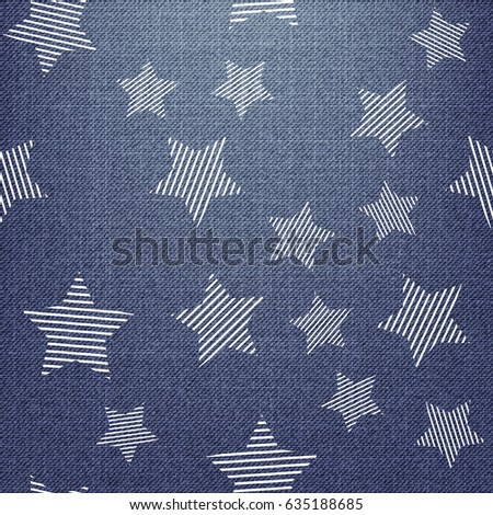 stars pattern endless abstract