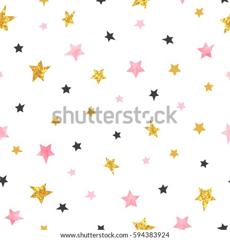 stars pattern vector seamless