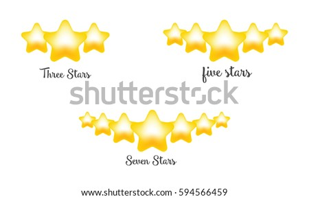 stars rating  three star  five