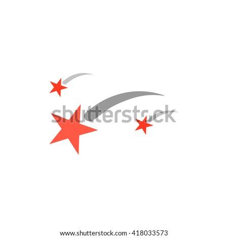 stars simple flat vector icon