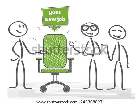Start new career, your new job