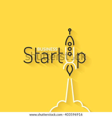 Start up. Income and success. Business infographics. Icons and illustrations for design, website, infographic, poster, advertising.