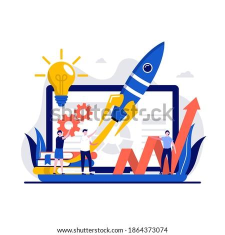 start up launch  venture