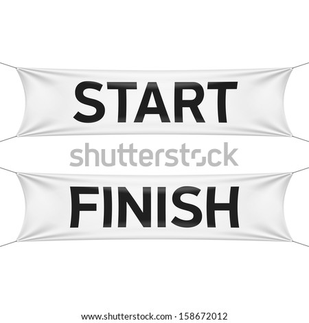 starting and finishing lines