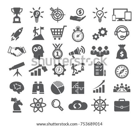 Startup icons set