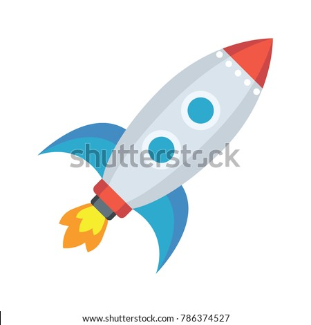 Startup vector flat icon