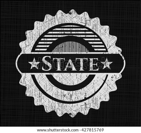 State chalk emblem