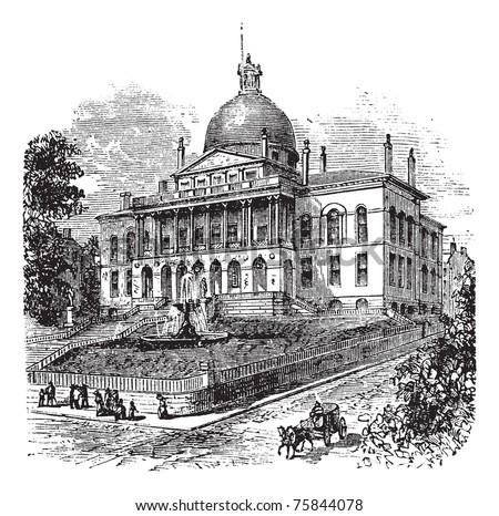 state house or massachusetts...