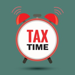 State taxes. Tax payment. Government taxes. Data analysis, paperwork, financial research, report.   Businessman calculation tax.