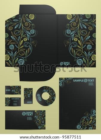 stationery set, eps10