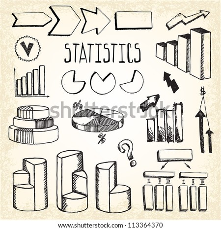 Statistics and Graphs Doodles