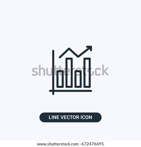 Statistics Vector Icon Design