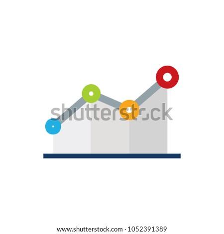 Stats Logo Icon Design