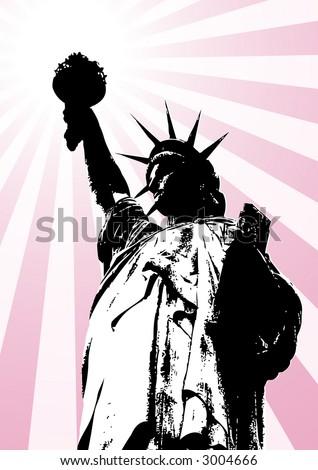 park statue liberty