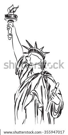 statue of liberty illustration 2