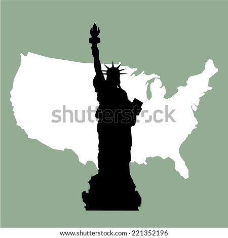 statue of liberty in very high