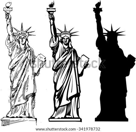 statue of liberty vector download free vector art stock graphics rh vecteezy com statue of liberty vector silhouette statue of liberty vector free download