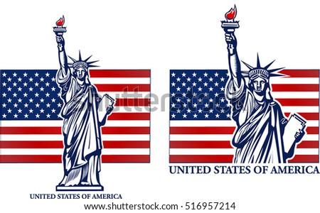 Standbeeld Van Vrijheid Vector Download Gratis Vectorkunst En