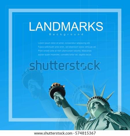 statue of liberty  symbols of