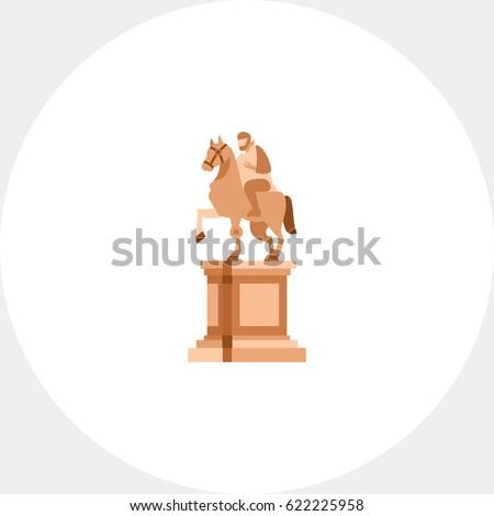 Shutterstock Statue of Marcus Aurelius on horse icon
