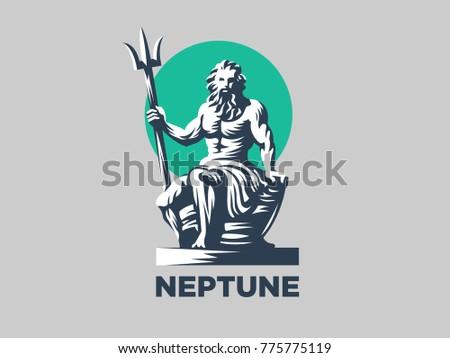 statue of poseidon or neptune