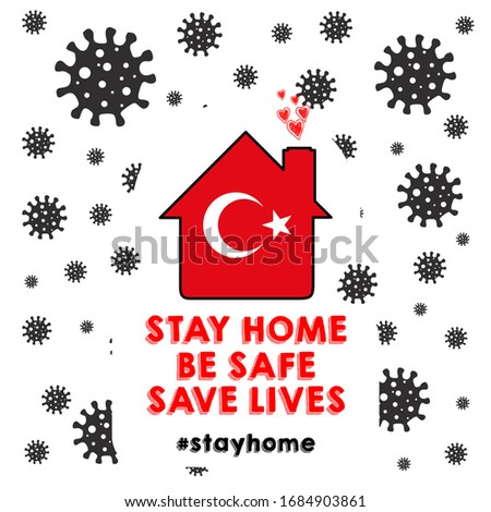 stay home  save lives  in