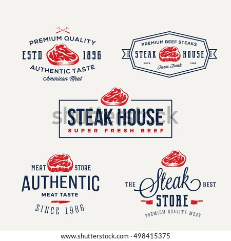 steak house or meat store...