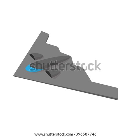 stealth bomber icon stealth
