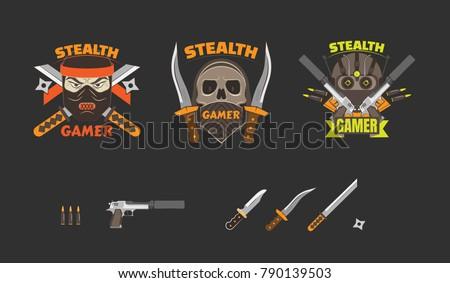 Skull Ninja Wallpaper Wallpaper Desktop Hd