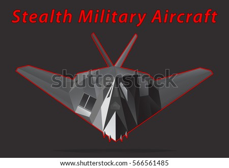 stealth military aircraft