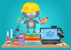 STEAM Education vector