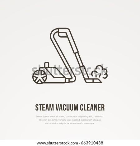 steam vacuum cleaner flat line