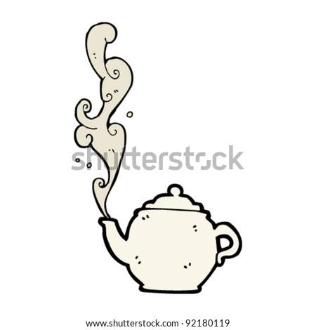 Kettle Steam Clipart steaming hot kettle cartoon